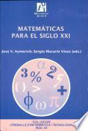 libro Matemáticas Para El Siglo Xxi