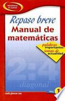 Quick Review Math Handbook