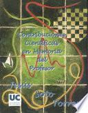 Contribucionesn Cientificas En Memoria Del Profesor Dr. Jesus Soto Torres