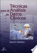 libro Técnicas Para El Análisis De Datos Clínicos