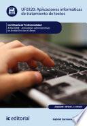 Aplicaciones Informáticas De Tratamiento De Textos. Adgg0208   Actividades Administrativas En La Relación Con El Cliente