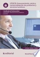 Asesoramiento, Venta Y Comercialización De Productos Y Servicios Turísticos. Hotg0208