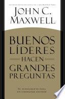 libro Buenos LÍderes Hacen Grandes Preguntas