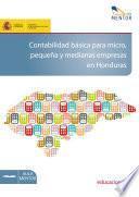 libro Contabilidad Básica Para Micro, Pequeña Y Medianas Empresas En Honduras
