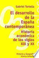 libro El Desarrollo De La España Contemporánea