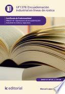libro Encuadernación Industrial En Líneas De Rústica. Argc0110