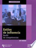 libro Estilos De Influencia
