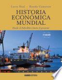libro Historia Económica Mundial