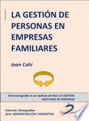 La Gestión De Personas En Empresas Familiares