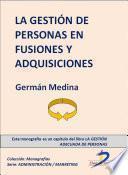 libro La Gestión De Personas En Fusiones Y Adquisiciones