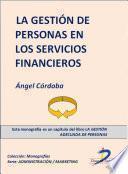 libro La Gestión De Personas En Los Servicios Financieros