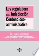 Ley Reguladora De La Jurisdicción Contencioso Administrativa