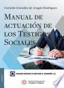 libro Manual De Actuación De Los Testigos Sociales