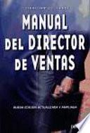 libro Manual Del Director De Ventas