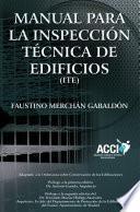 Manual Para Inspecciones Técnicas De Edificios (i.t.e.)