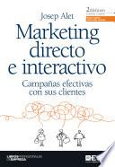 libro Marketing Directo E Interactivo 2 Edic
