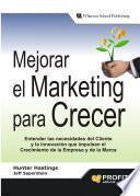 libro Mejorar El Marketing Para Crecer