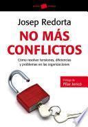libro No Más Conflictos