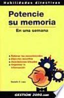 Potencie Su Memoria