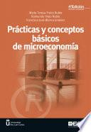 Prácticas Y Conceptos Básicos De Microeconomía 4ª Edición