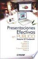 Presentaciones Efectivas En Público