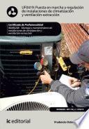 Puesta En Marcha Y Regulación De Instalaciones De Climatización Y Ventilación Extracción. Imar0208