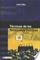 libro Técnicas De Las Relaciones Públicas