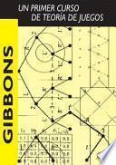 libro Un Primer Curso De Teoría De Juegos