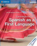 Cambridge Igcse® Spanish As A First Language Coursebook