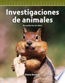 libro Investigaciones De Animales (animal Investigations)