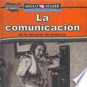 libro La Comunicación En La Historia De América