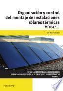 Mf0847_3   Organización Y Control Del Montaje De Instalaciones Solares Térmicas