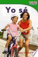 libro Yo Se! / I Know!