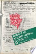 Anuario De Las Relaciones Laborales En España 1975