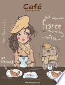Café Libro Para Colorear Para Adultos 1