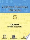 Cajeme Estado De Sonora. Cuaderno Estadístico Municipal 1996