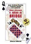 libro Cómo Aprender A Jugar Al Bridge