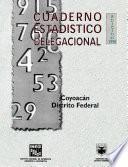 Coyoacán Distrito Federal. Cuaderno Estadístico Delegacional 1998