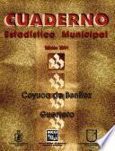 libro Coyuca De Benítez Guerrero. Cuaderno Estadístico Municipal 2001
