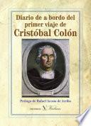 Diario De A Bordo Del Primer Viaje De Cristóbal Colón
