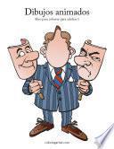 Dibujos Animados Libro Para Colorear Para Adultos 1