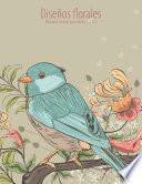 libro Diseños Florales Libro Para Colorear Para Adultos 1, 2 & 3