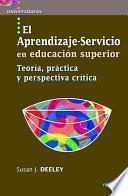 El Aprendizaje Servicio En Educación Superior