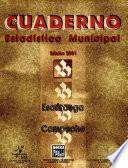 libro Escárcega Campeche. Cuaderno Estadístico Municipal 2001