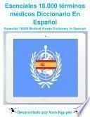 Essential 18000 Medical Words Dictionary In Spanish