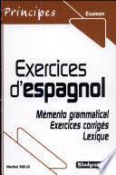 Exercices D Espagnol