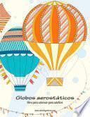 Globos Aerostáticos Libro Para Colorear Para Adultos 1