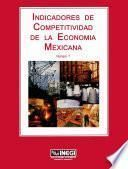 libro Indicadores De Competitividad De La Economía Mexicana. Número 7