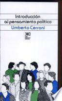 Introducción Al Pensamiento Político