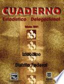 Iztacalco, Distrito Federal. Cuaderno Estadístico Delegacional 2001